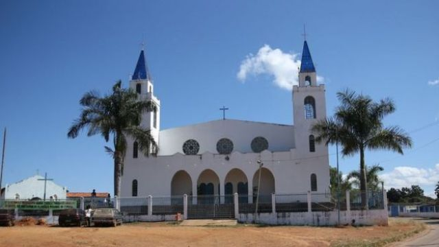 Igreja Nossa Senhora da Abadia, padroeira do Quilombo de Mesquita