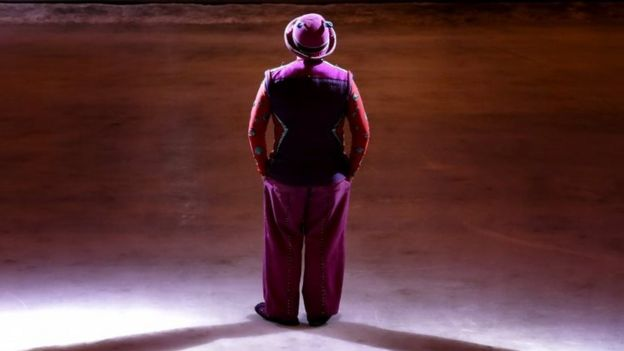 A clown performs at the Ringling Bros and Barnum & Bailey Circus performance in New York. Photo: 21 May 2017