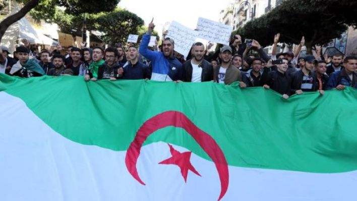 مظاهرات في الجزائر