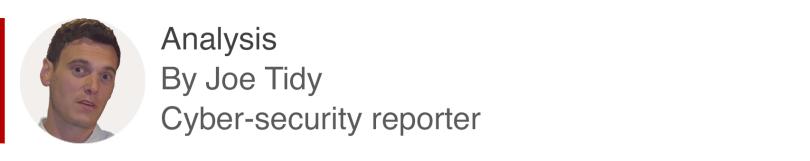 Coffret d'analyse par Joe Tidy, reporter Cyber-sécurité