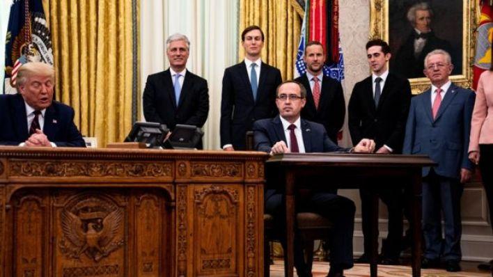 الولايات المتحدة أقرت تطبيع العلاقات الاقتصادية مع صربيا وكوسوفا في مقابل نقل سفارتيهما