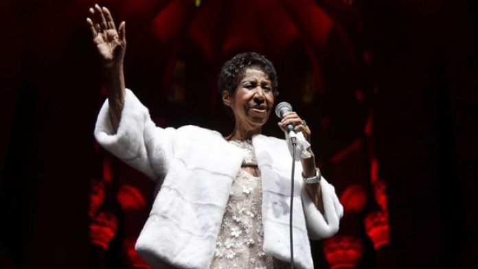 Aretha Franklin in November 2017