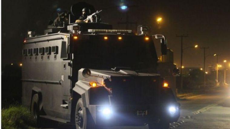 Caminhão do exército mexicano