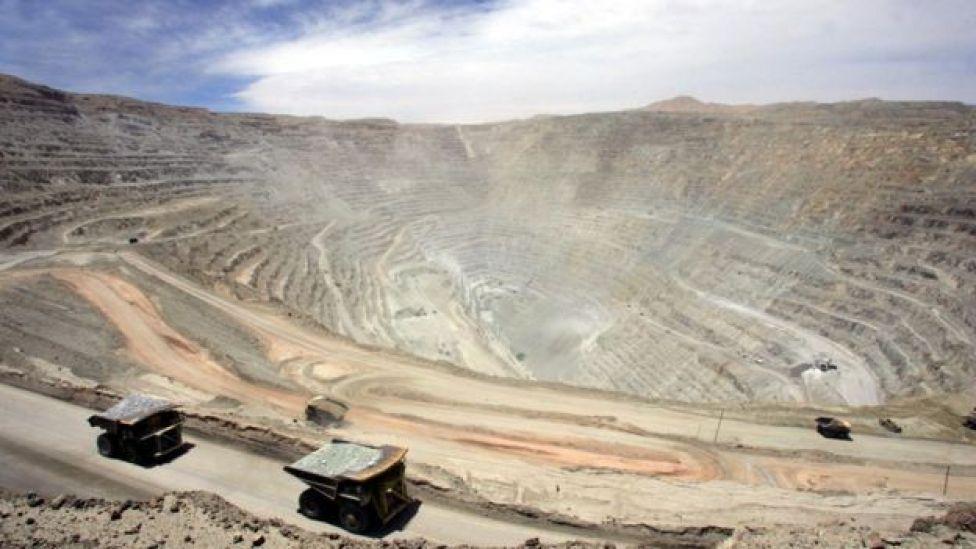 Industria del cobre en Chile
