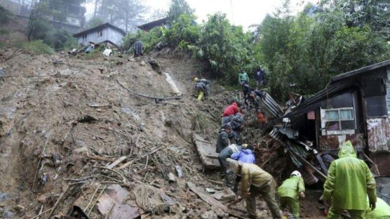 Deslizamento de terra nas Filipinas