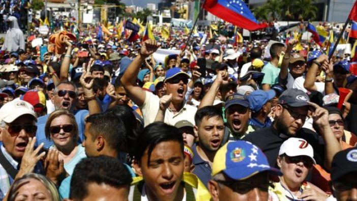 Protesta contra Maduro