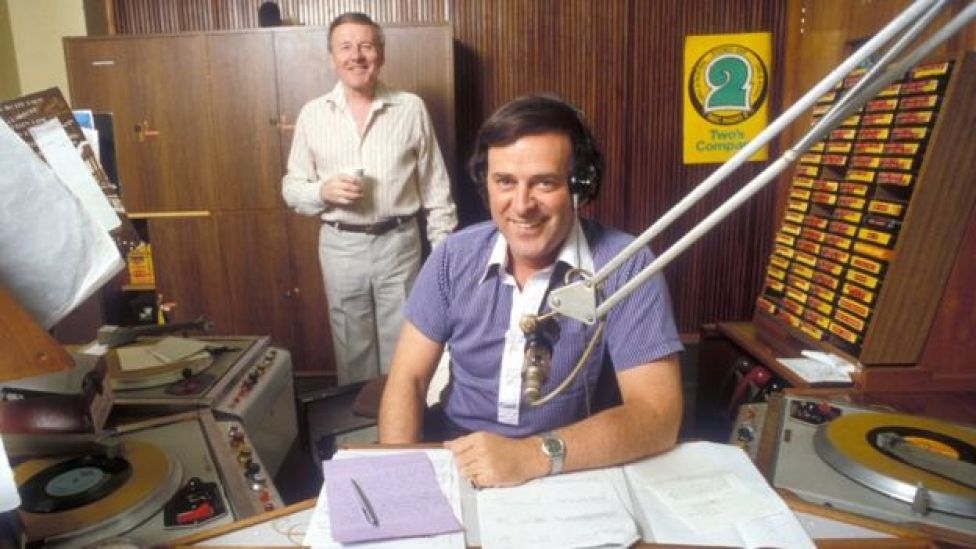 Sir Terry Wogan and Jimmy Young