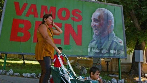Cartel de Fidel Castro