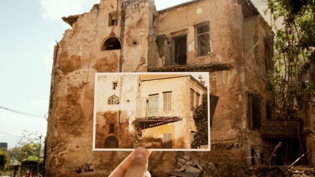 قبل الانفجار، كانت بعض الأبنية التراثية مهجورة