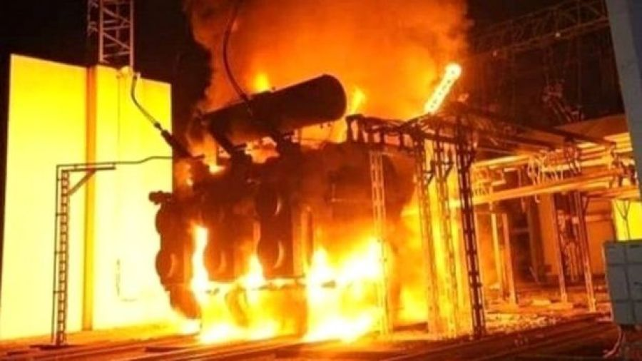 The fire in Shiraz power transformer in the middle of the night caused 20% of the city to shut down and people to panic