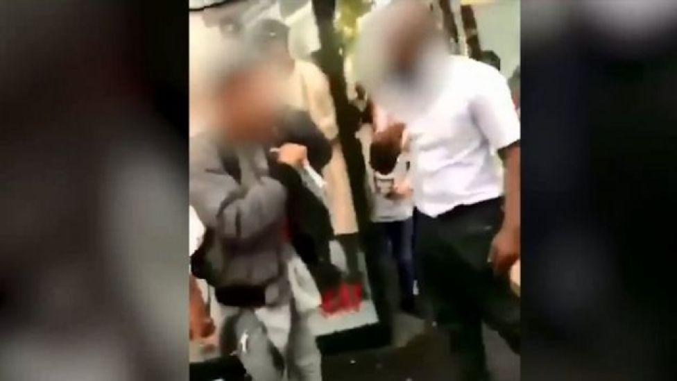 Imagen del video del incidente