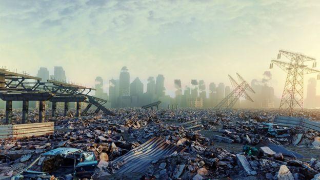 Diseño de ciudad destruida