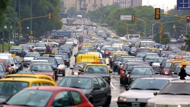 Congestión vehicular