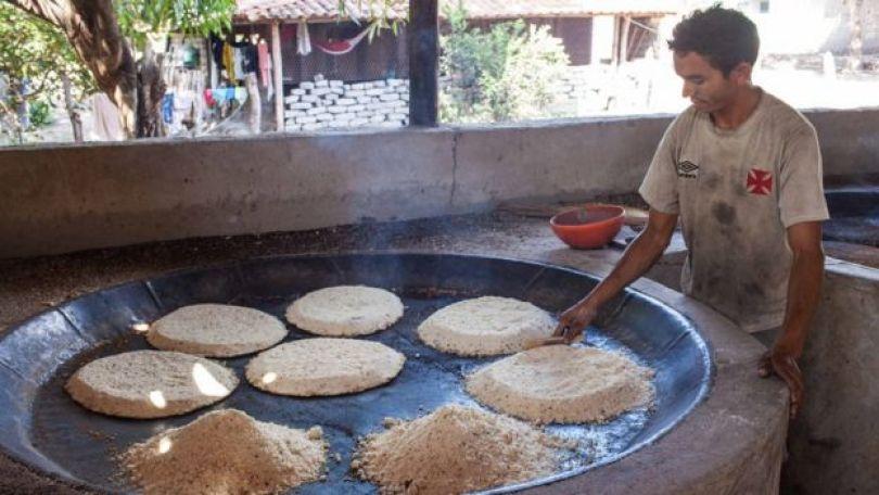 Produção de tiquira no Maranhão