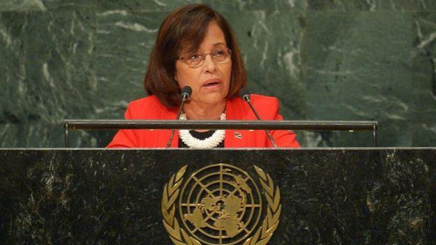 Hilda Heine, la presidenta de las Islas Marshall