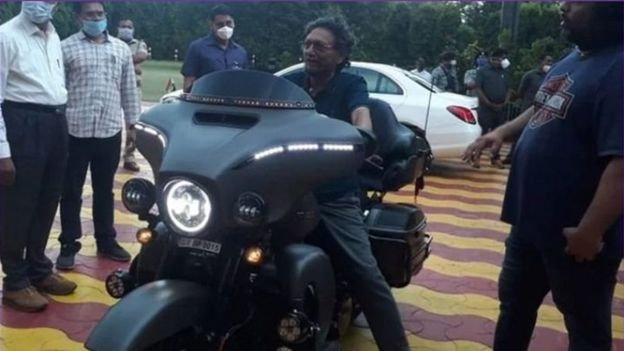 CJI did not drive motorcycle