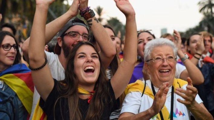 مؤيدون لاستقلال كتالونيا