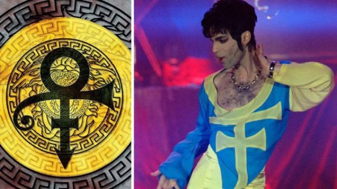 Prince and the cover for The Versace Experience