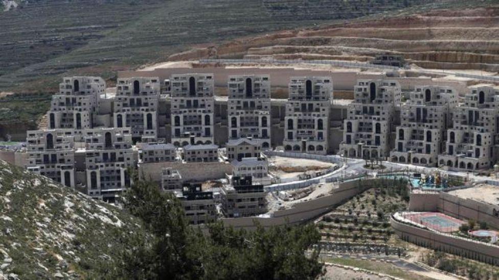 Asentamientos israelíes en Cisjordania.