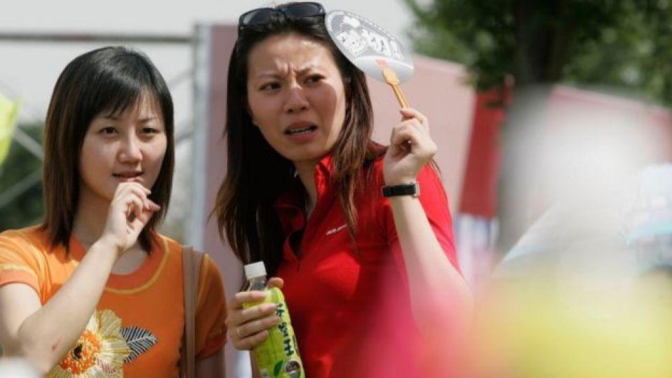 Mujeres chinas