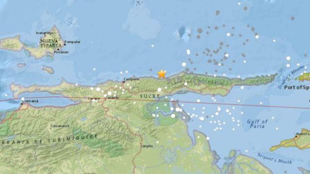 mapa Venezuela.