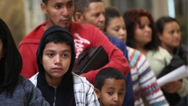 Inmigrantes centroamericanos en Texas