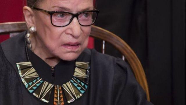 RBG, juíza da Suprema Corte americana