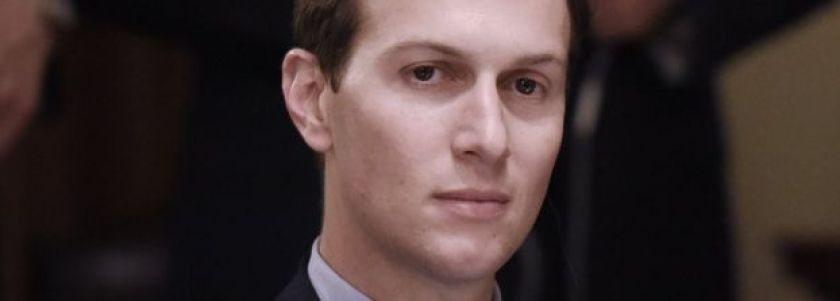 White House senior adviser Jared Kushner during a meeting on 30 June 2016