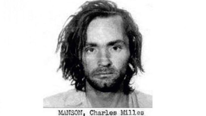 Charles Manson cuando fue internado en la cárcel de San Quintín, 1969. (Foto: Departamento de Correccionales y Rehabilitación de California)