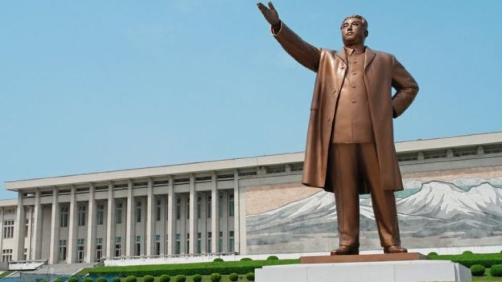 Estatua de Kim Il-sung