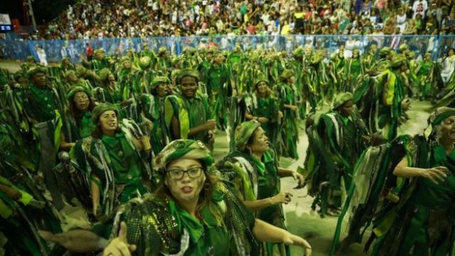 Desfile da Imperatriz Leopoldinense no Carnaval 2019 no Rio de Janeiro