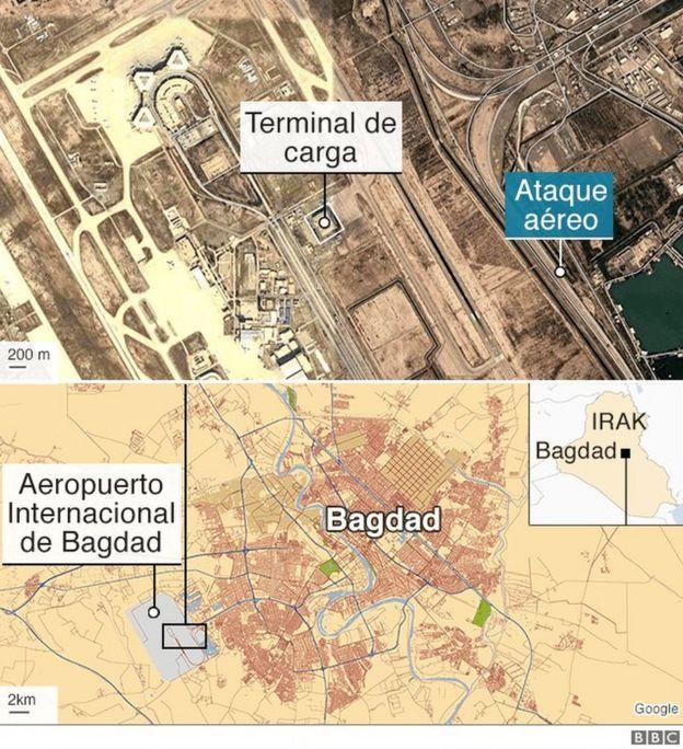 Mapa del ataque