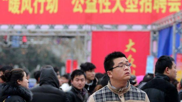 Chợ việc làm ở Trung Quốc: kinh tế nước này không còn vận hành theo mô hình cộng sản