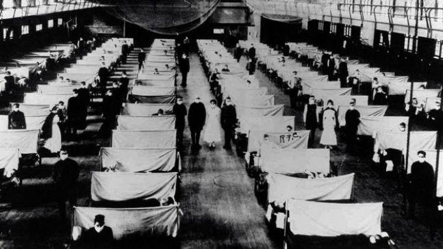 عند تفشي وباء الأنفلونزا في 1918 تم تحويل المخازن إلى مراكز للاحتفاظ بالأشخاص المصابين في الحجر الصحي