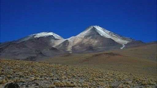 Volcán Uturuncu en Bolivia