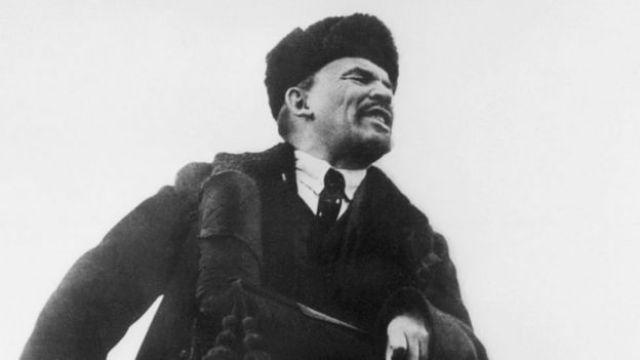 Lenin en 1918