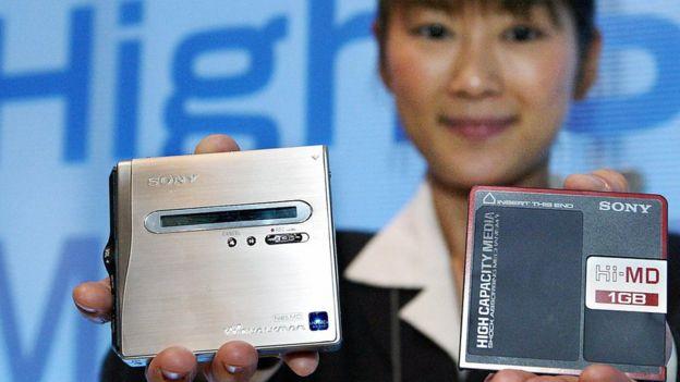 Minidisc de Sony