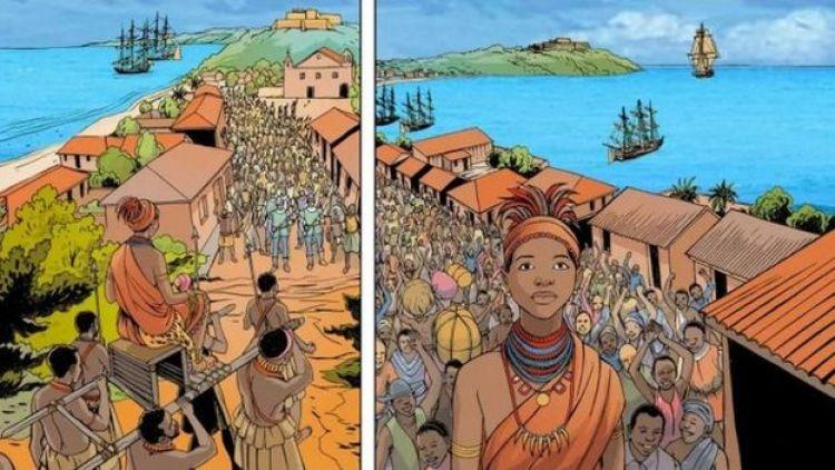 História em quadrinhos da Unesco