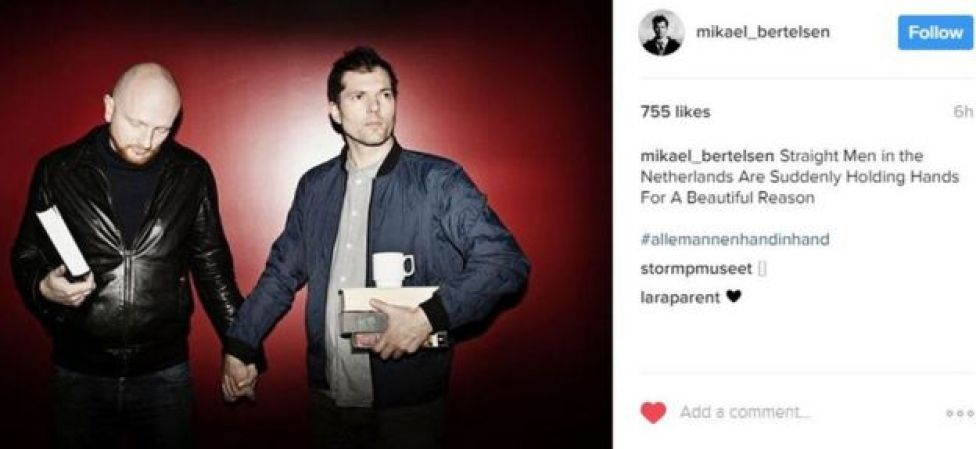 Danish radio and television host is one of the latest to take part on Instagram