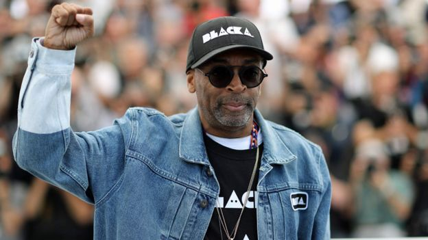 Spike Lee at the 2018 Cannes Film Festival