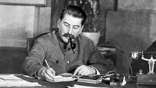 Josef Stalin.