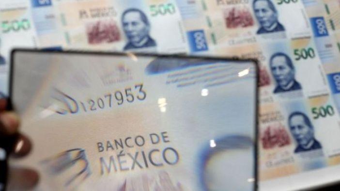 Impresión de billetes de 500 pesos mexicanos
