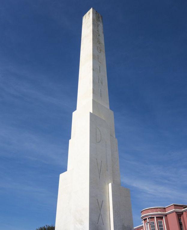 Obelisco Mussolini en Roma