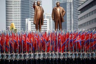 احتفال كوريا الشمالية بالذكرى 105 لميلاد مؤسس الدولة كيم إل سونغ