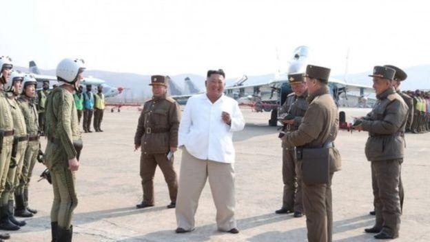 Kim Jong-un waxaa markii ugu dambeysay sawir laga qaaday 12 April