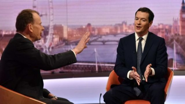 Andrew Marr and George Osborne