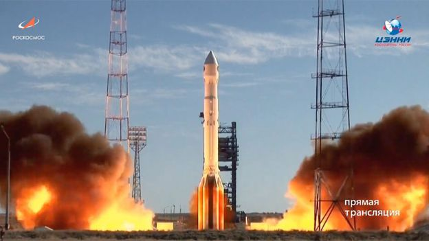 Proton launch