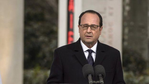 Francois Hollande, 19 March