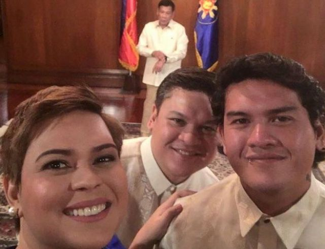 The Duterte siblings