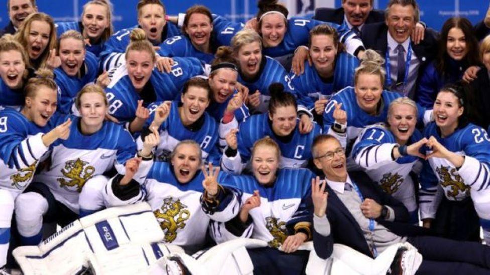 Equipo de hockey femenino de Finlandia